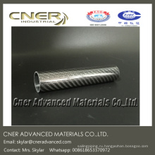 Круглая труба из углеродного волокна / труба в рулоне 30 * 27 * 145 мм