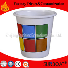 Emaille Tumbler / Sunboat Wasser Cup mit Customized / tiefe Becher