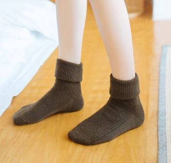 Cashmere Blend Knitted Socks