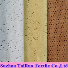 Special Punch Stiletto Suede for Upholstery Fabric Garment Fabric