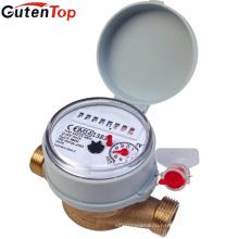 Поставщик Gutentop многоструйный латунный корпус счетчика воды для холодной воды