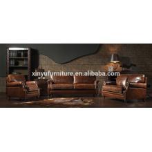Sala de estilo vintage sofá conjunto de móveis A632