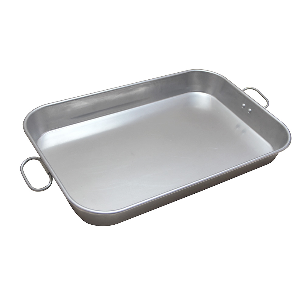 Aluminum Deep Rectangle Pan With Clips