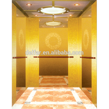 Safe and low noise small machine room Passenger Elevator Lift