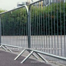 Verzinkte temporäre Bau Barrieren