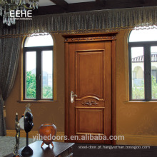 Porta de painel de madeira contínua de alta qualidade na Malásia preço de fábrica
