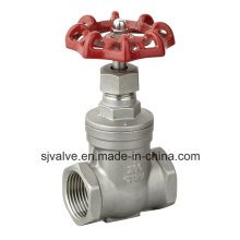 Stainless Steel 316 Seated Ce Gate Valve