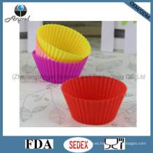 Molde del tamaño medio del mollete del silicón de la herramienta de la torta Sc01 (M)