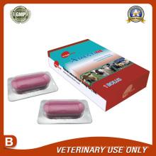 Médicaments vétérinaires d'Albendazole 3000mg + Ivermectine 100mg Bolus