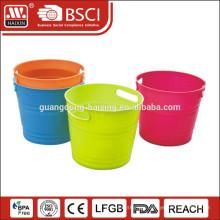 plastic ice beer bucket