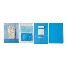 Одноразовый хирургический стерильный комплект простыни для доставки
