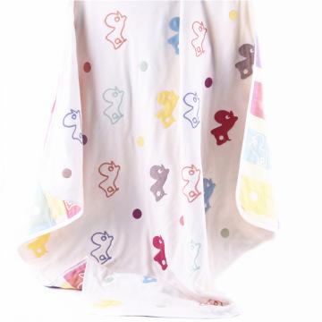 6 Camadas Musselina Pato Design Bebê Cobertor Toalha De Bebê