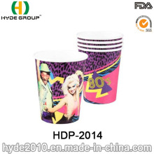Copo de papel descartável água de parede simples (HDP-2014)
