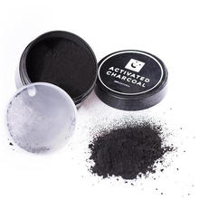 Pure natural teeth whitening coconut shell activated carbon powder