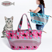 bolsa de ombro ao ar livre portátil pequena do desenhista do saco do gato do portador do animal de estimação