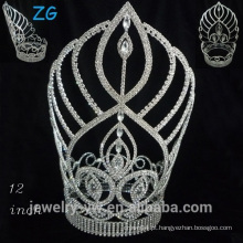Moda Uma tiara de cristal de nível tiara tiara