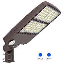 Lâmpada de rua LED shoebox de 300 watts