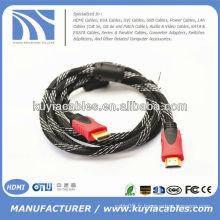 Transparent Bleu Câble HDMI M à M pour HDTV 1.5m