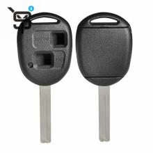 Top quality key blank for toyota car key shell remote  2 button YS200806