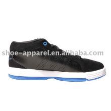 Chaussures de basket-ball noires Schuhe / sport sneaker