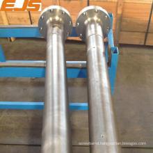 dia. 150 screw barrel with nitrided treatment