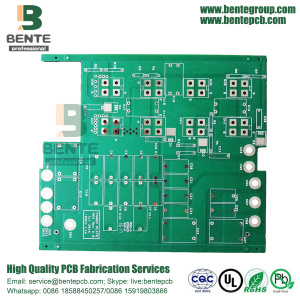 Matt Green 2Layers TG150 Dik Koper PCB