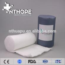 rolo de algodão de combate hemostático