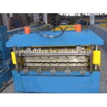 Panel de techo de acero Máquina formadora de rollos