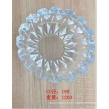 Round Crystal High Quality Glass Ashtray Kb-Hn07691