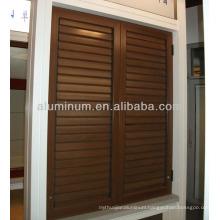 50B aluminum shutter window