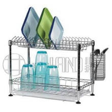Carbon Steel Chrome Plated Kitchen Dish Rack