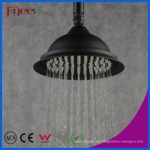 Cabezal de ducha de lluvia de latón negro redondo de 8 pulgadas (QH3268-1B)