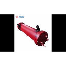 Évaporateurs à coque refroidis à l'eau de haute qualité pour l'évaporation
