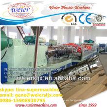 Máquina de puerta de plástico hueco de madera de 1200 mm de ancho nuevo tipo
