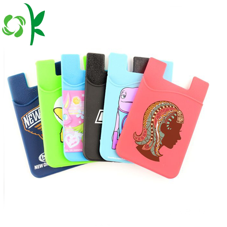 Silicone Stick Card Holder