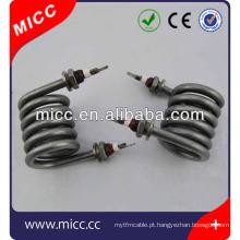 CE aprovado espiral elétrica e bobina de aquecedor tubular