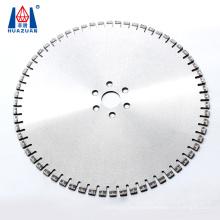 Huazuan T shape segment 24 inch diamond saw blades for reinforced concrete cutting