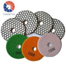 Diamond Floor Wet Polishing Pads Concrete Grinding Disc