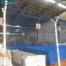 Powder Coated Anti -Climb Airport Fence Panels