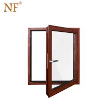 cheap german wood aluminum windows