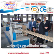 wpc decking flooring profiles wood plastic manufacturing machine