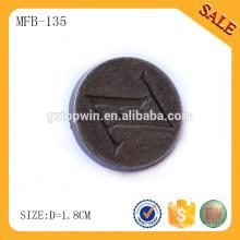 MFB135 Boutons de couture sur mesure boutons de tige métallique pour vêtements