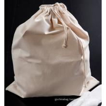 Cheap china heavy duty custom eco-friendly extra large natural cotton canvas laundry bag