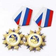 Custom Metal Sport Club Award Souvenir Medal Badge