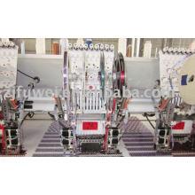 Multi Head Máquina de bordar de lantejoulas dobro / 4 sequas de lantejoulas empilhadas (FW915