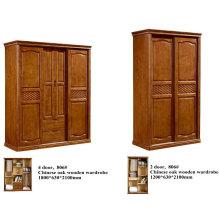 Alta calidad roble madera muebles chinos, muebles del Kd, armario (602)