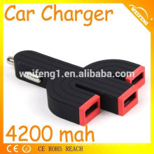 Ultimo diseño Universal 3 usb car charger