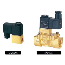 2V Series Brass 2/2 Normally Closed Solenoid Valve
