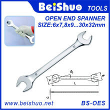 Matériau Cr-V Open End Spanners