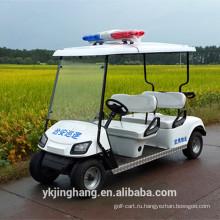 4 полицейских сиденья гольф с мотором 3kw и подходящую цену для продажи